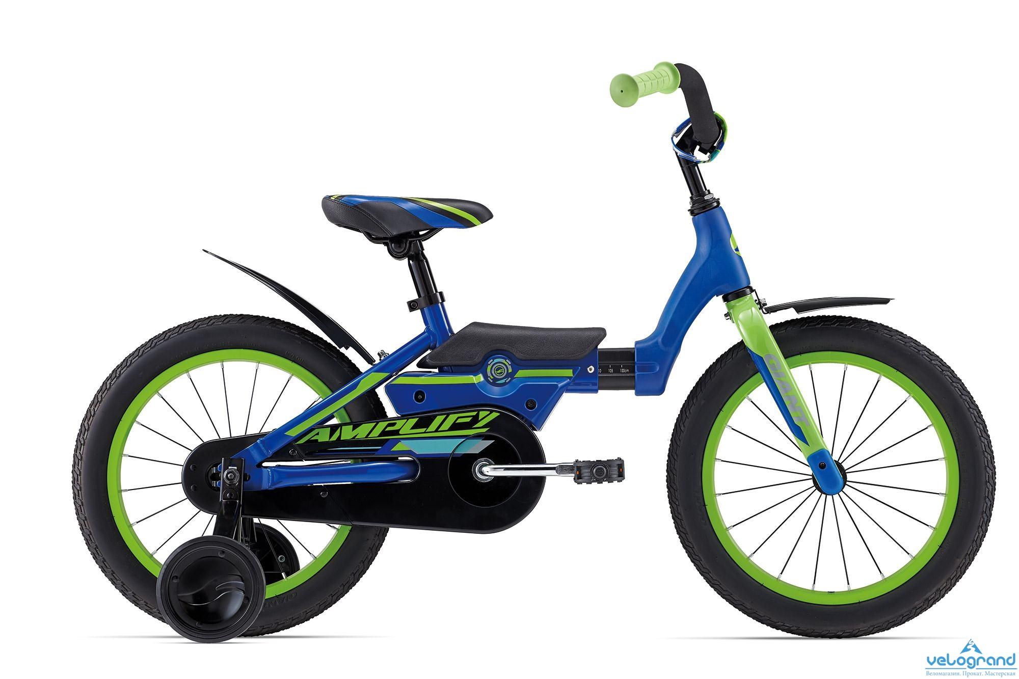 Детский велосипед Giant Amplify C/B (2016), Цвет Синий