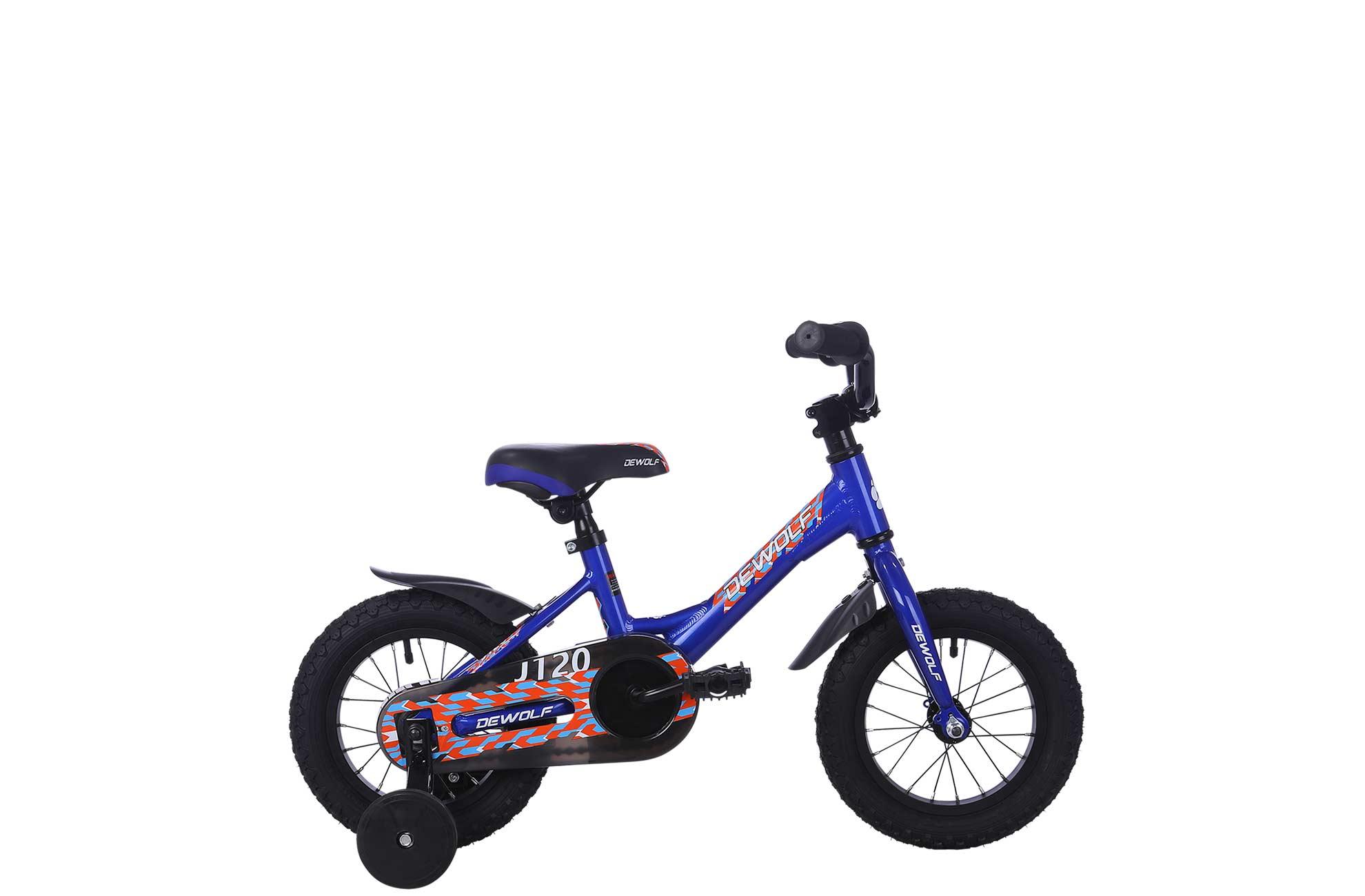 Детский велосипед DEWOLF J120 BOY (2016), Цвет Синий