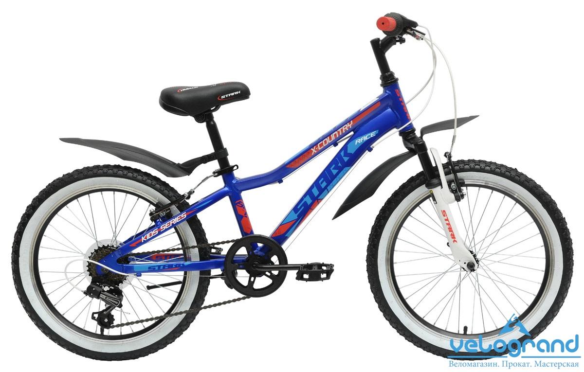 Детский велосипед Stark Bliss Boy 20 (2015), Цвет Сине-Красный