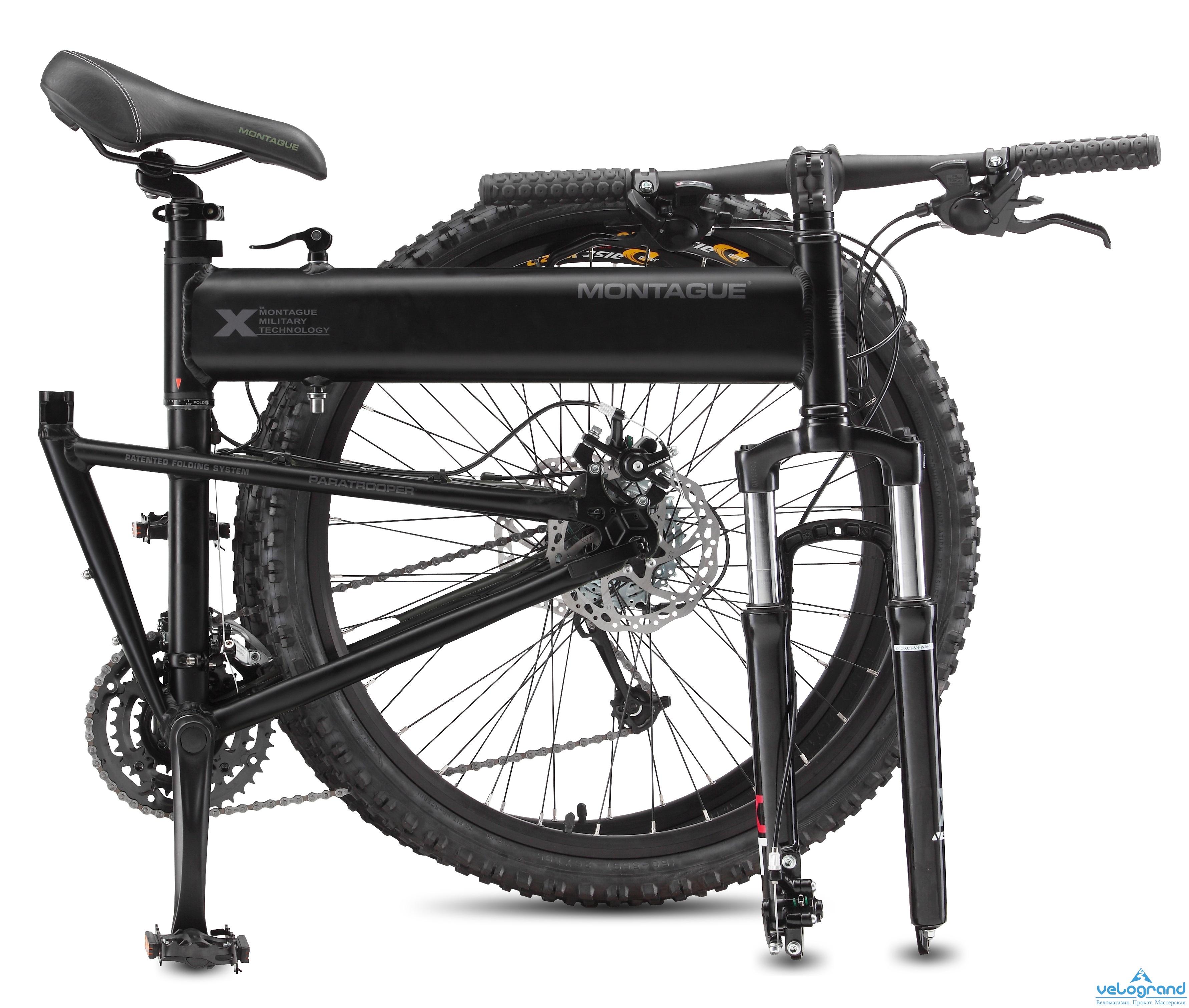 Складной велосипед Montague Paratrooper (2015) от Velogrand