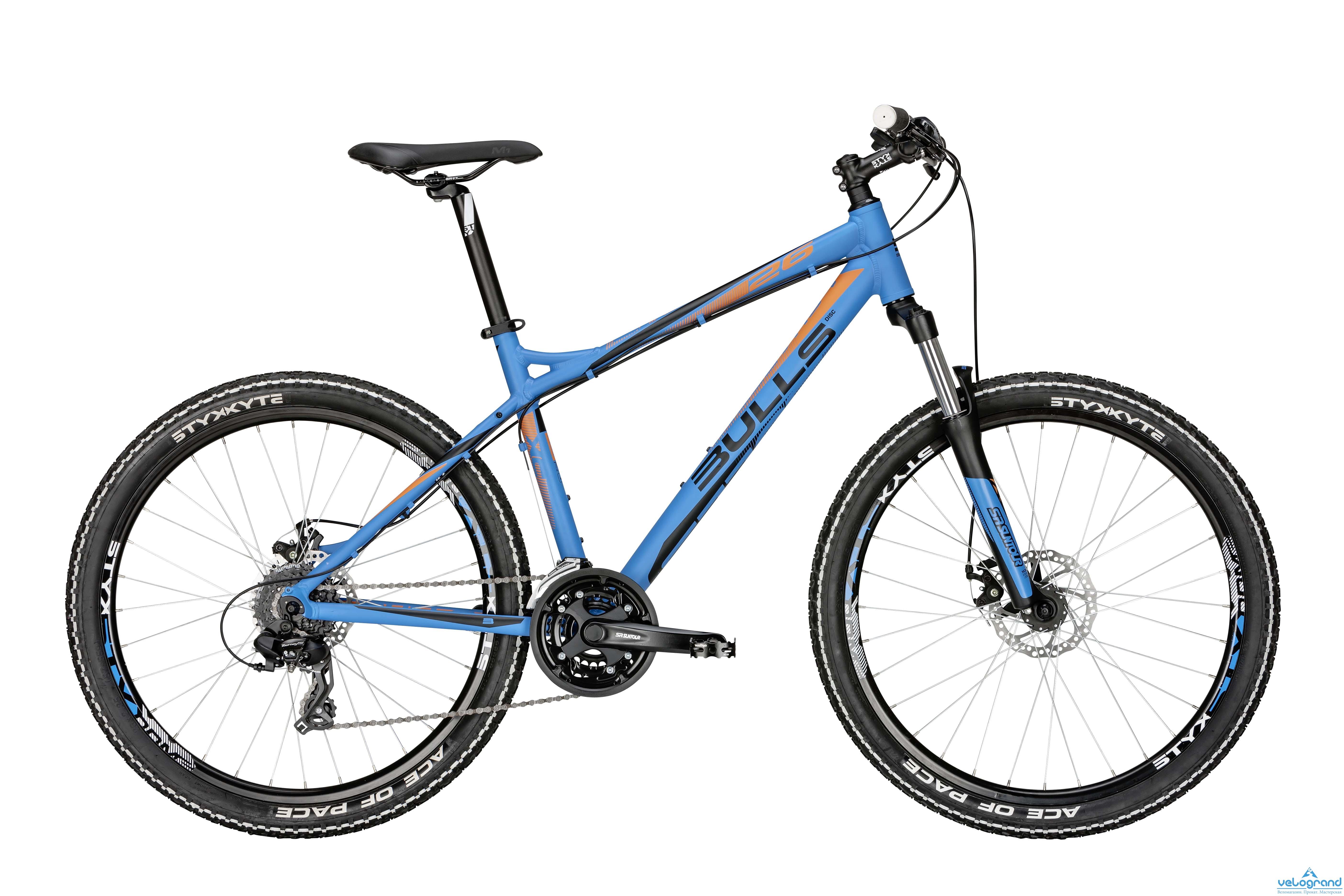 Горный велосипед Bulls Sharptail 1 Disc (2015), Цвет Синий, Размер 22