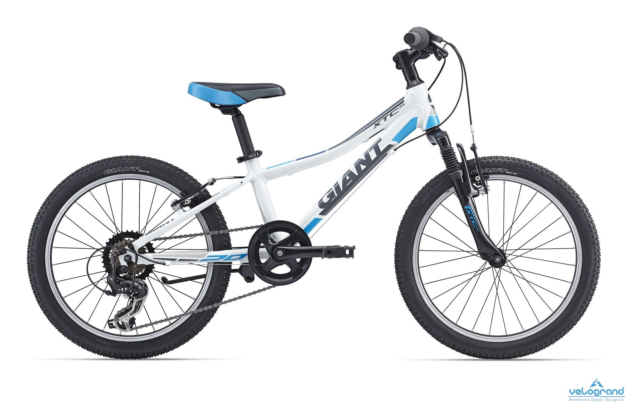Детский велосипед Giant XtC Jr 20 (2016), Цвет Белый