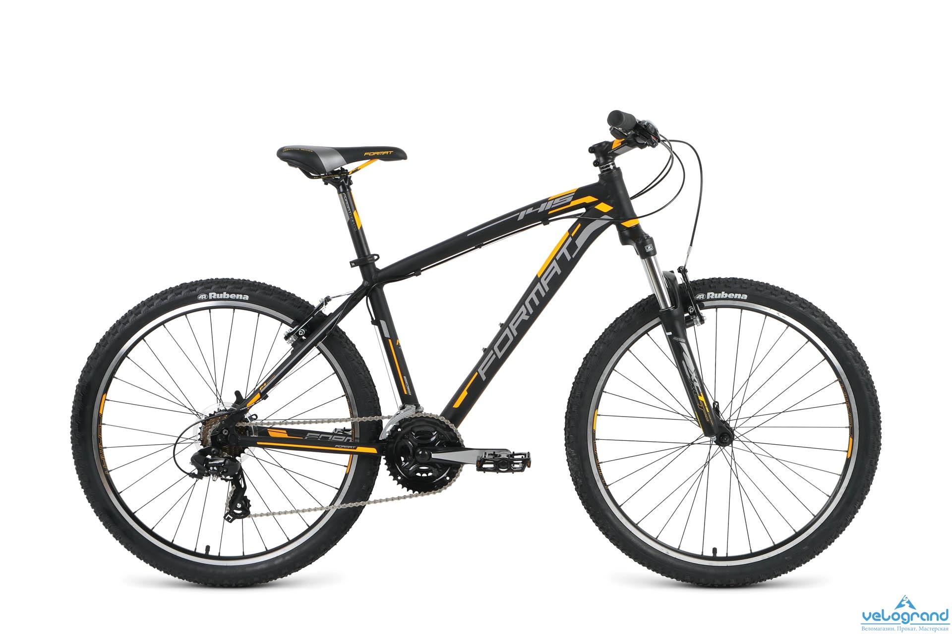 Горный велосипед Format 1415 26 (2016), Цвет Черный, Размер 20