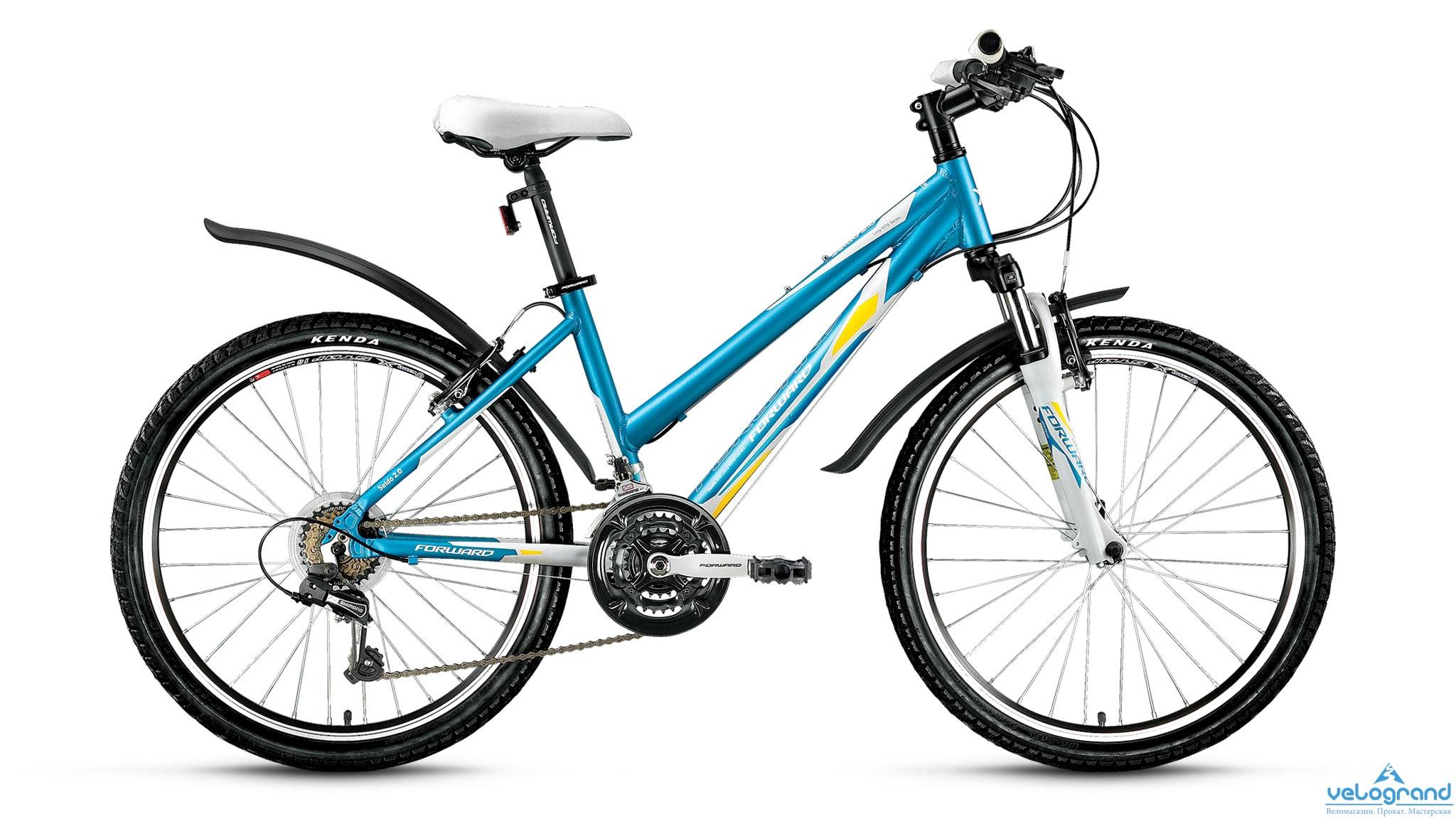 Подростковый велосипед Forward Seido 2.0 (2016), Цвет Голубой, Размер 15 от Velogrand
