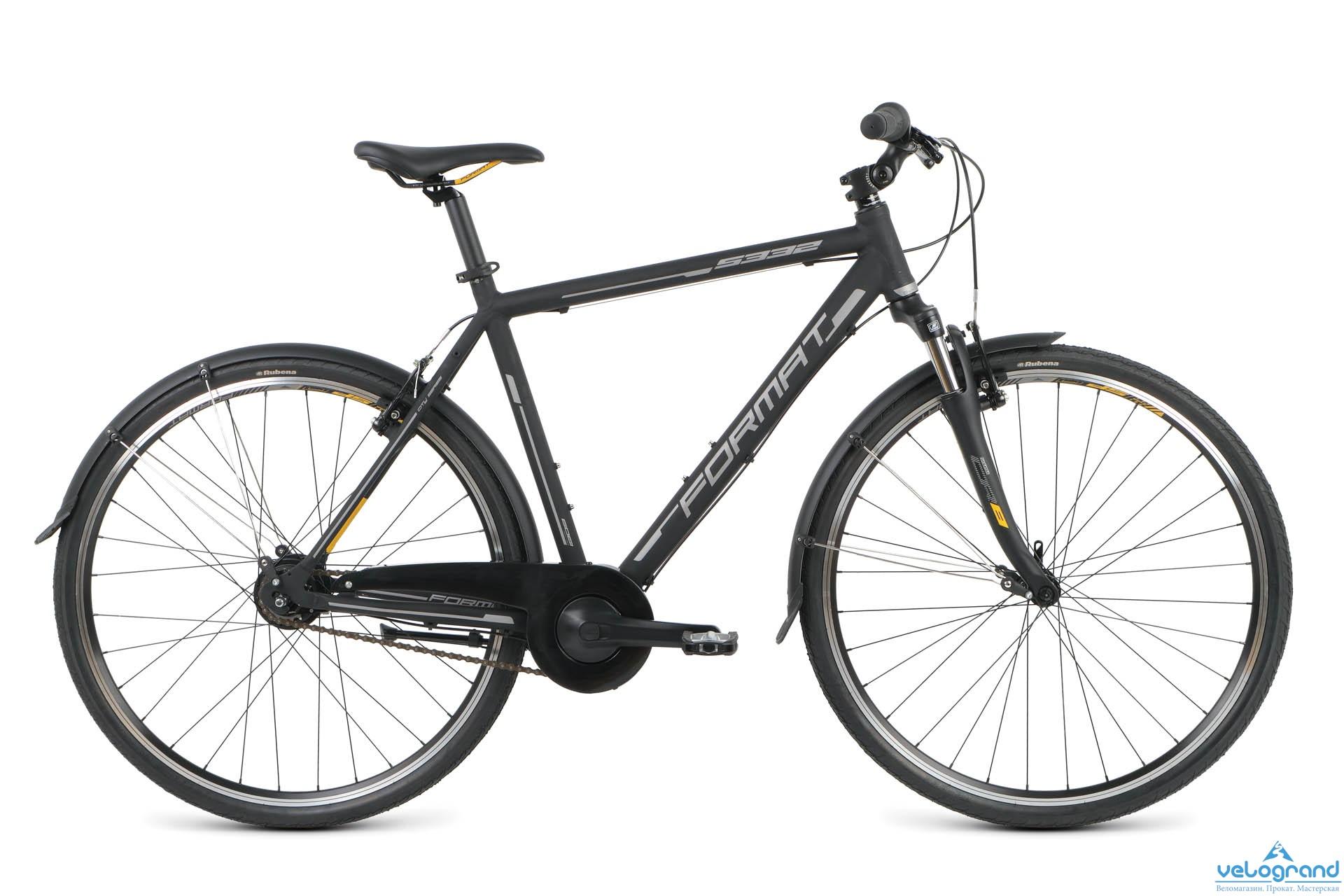 Городской велосипед Format 5332 (2016), Цвет Черный, Размер 21