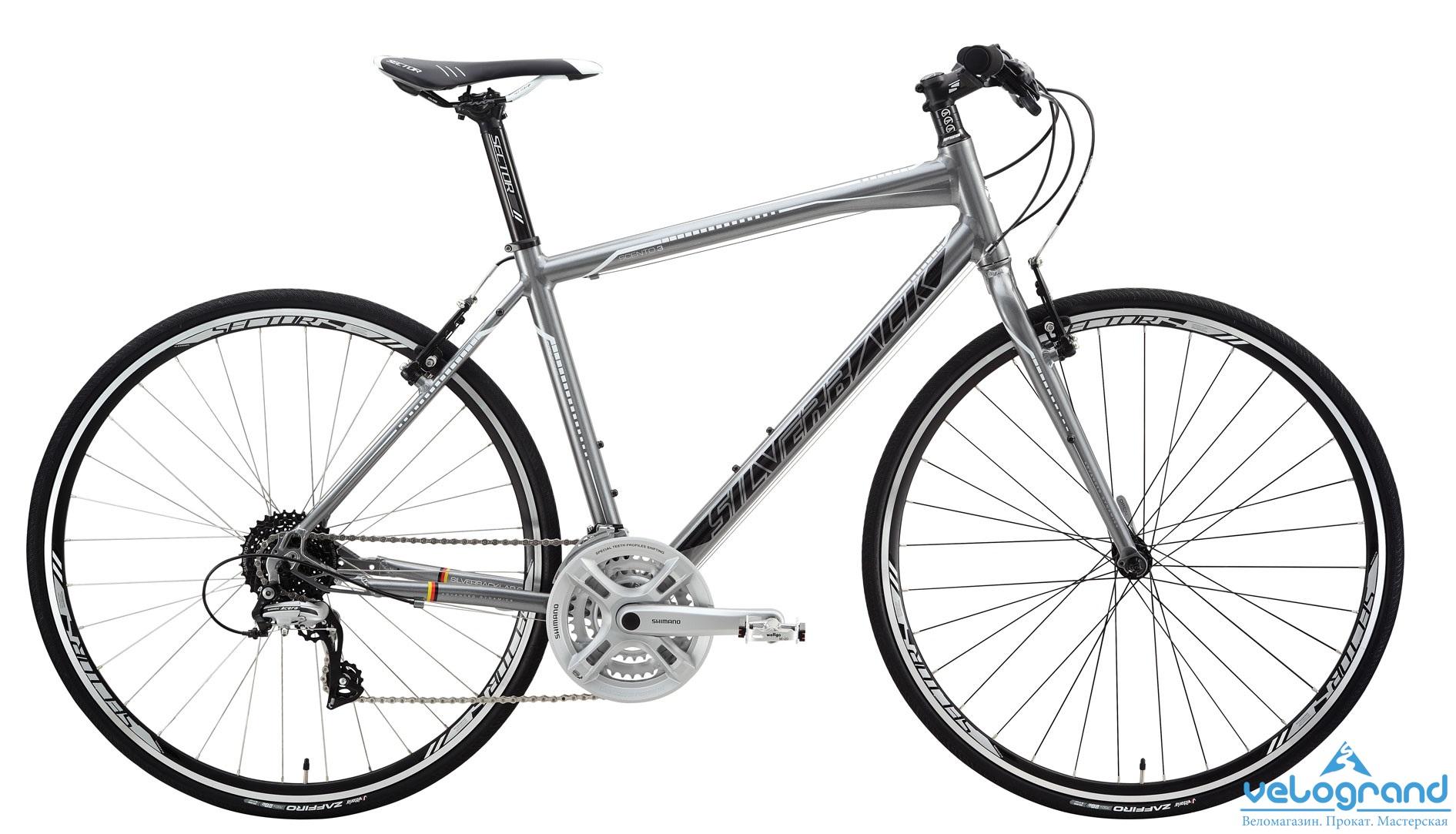 Городской велосипед Silverback Scento 3 (2015), Цвет Серый, Размер 21