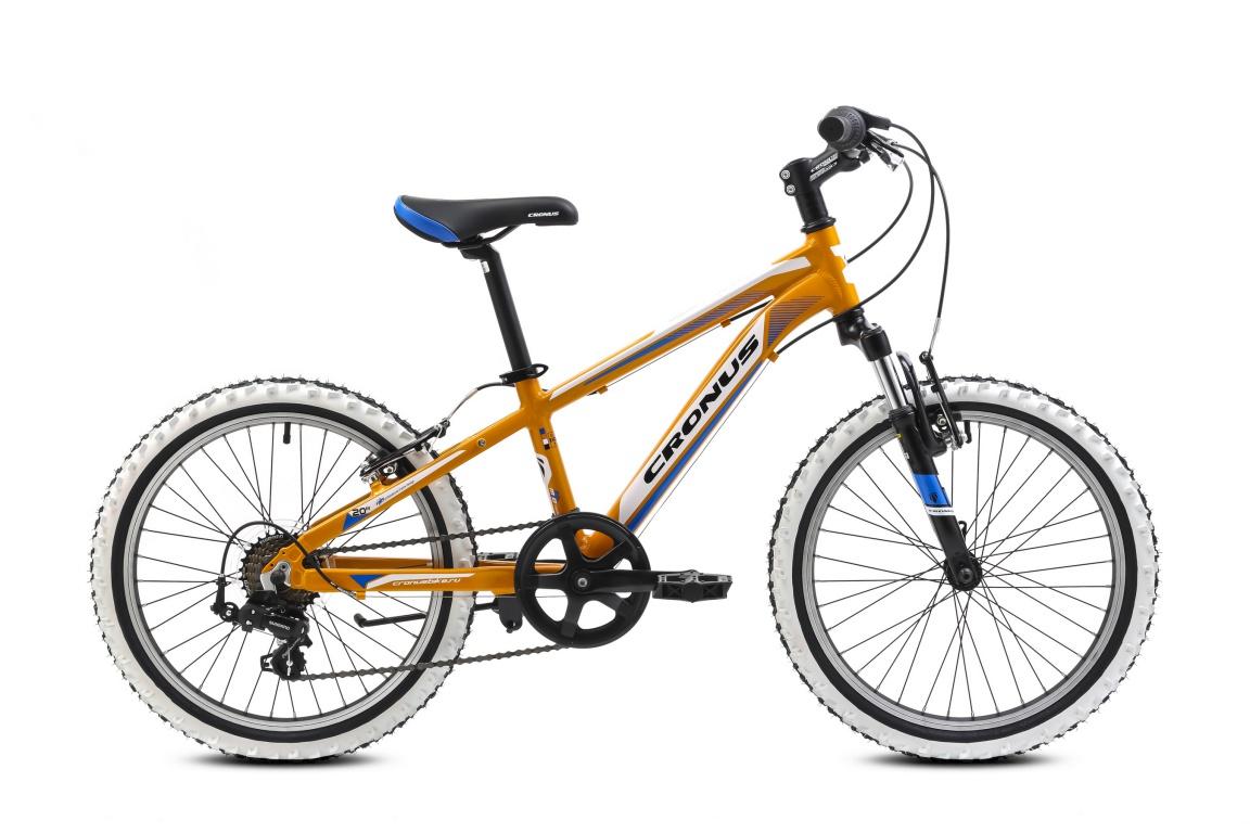 Детский велосипед Cronus BEST MATE 20 (2016), Цвет Оранжевый, Размер 11