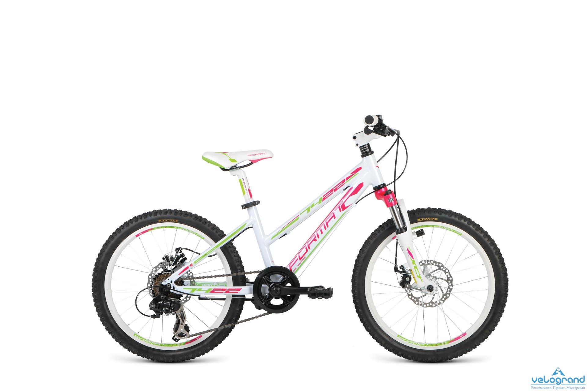 Детский велосипед Format 7422 Girl (2016), Цвет Белый