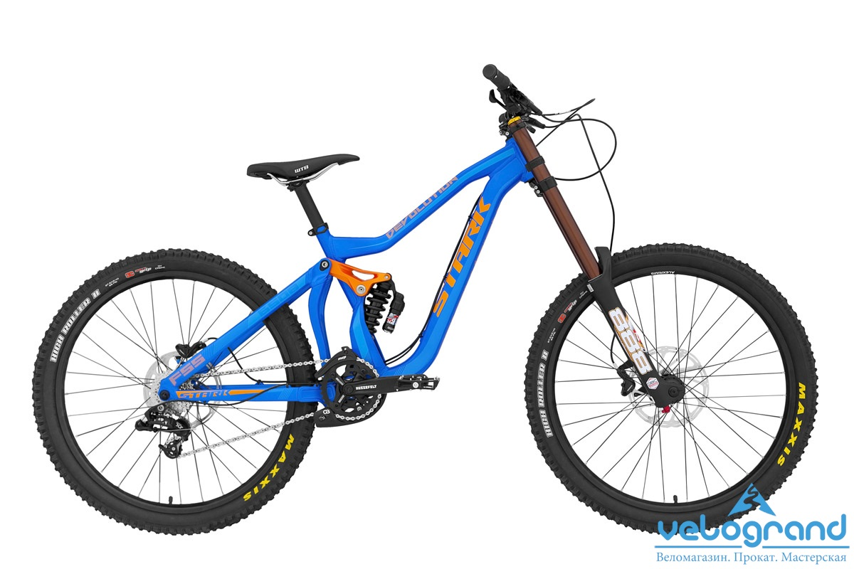 Велосипед двухподвес Stark Devolution 650B (2015), Цвет Синий, Размер 16