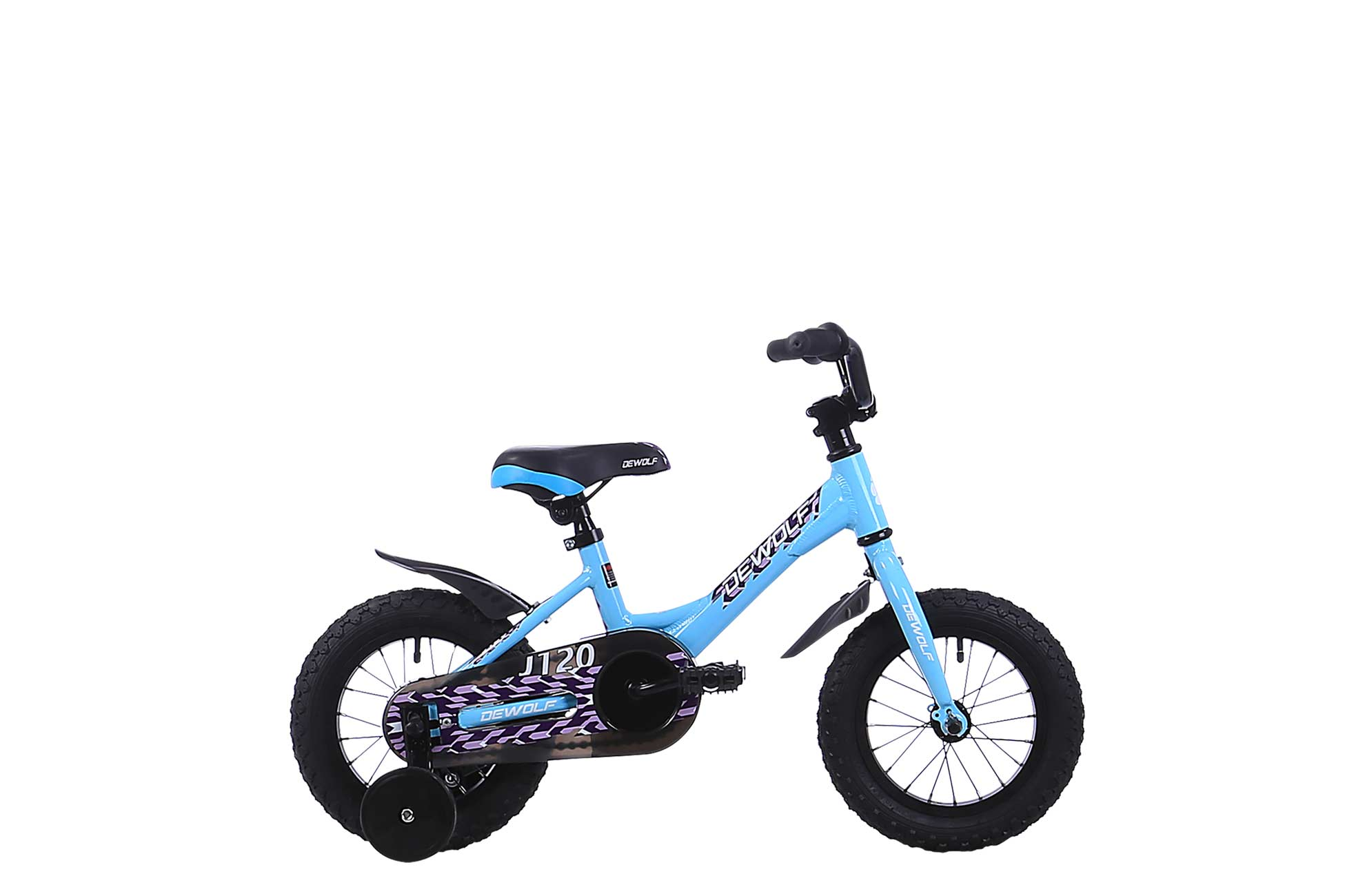 Детский велосипед DEWOLF J120 GIRL (2016), Цвет Голубой
