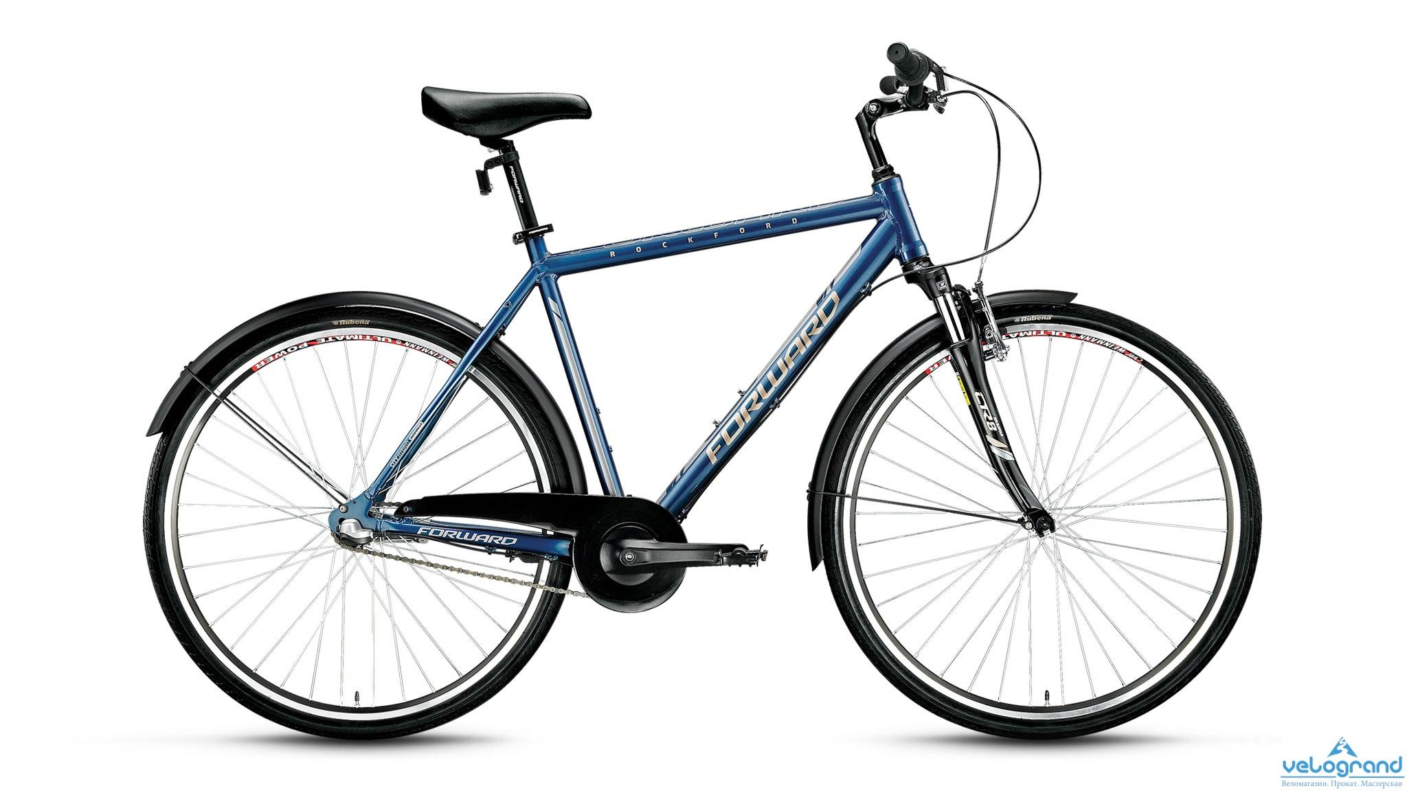 Городской велосипед Forward Rockford 2.0 (2016), Цвет Синий, Размер 21
