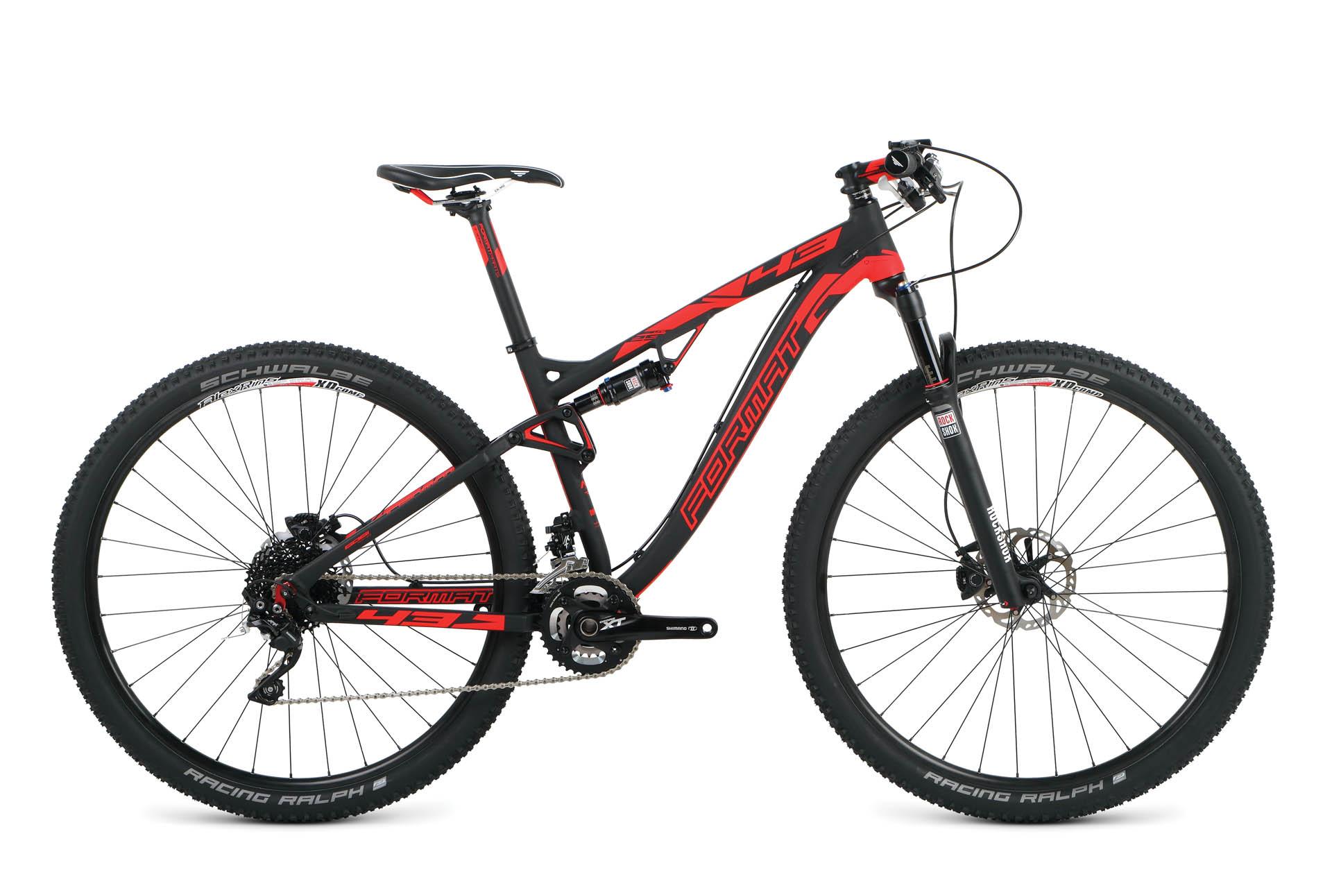 Велосипед двухподвес Format 4312 (2015), Цвет Черный, Размер 18