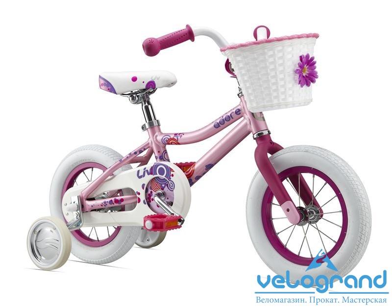 Детский велосипед Giant Adore C/B 12 (2015), Цвет Розовый