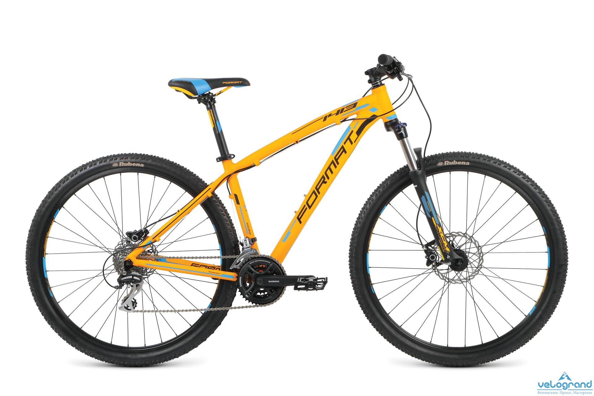 Горный велосипед Format 1413 29 (2016), Цвет Черный, Размер 20 от Velogrand