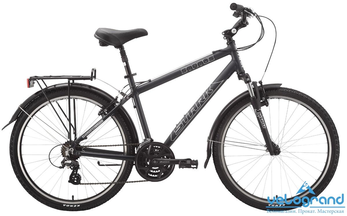 Комфортный велосипед Stark Status (2015) от Velogrand