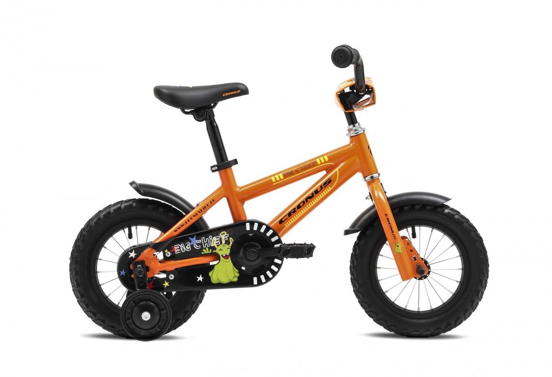 Детский велосипед Cronus BIG CHIEF 12 (2016), Цвет Оранжевый, Размер 8