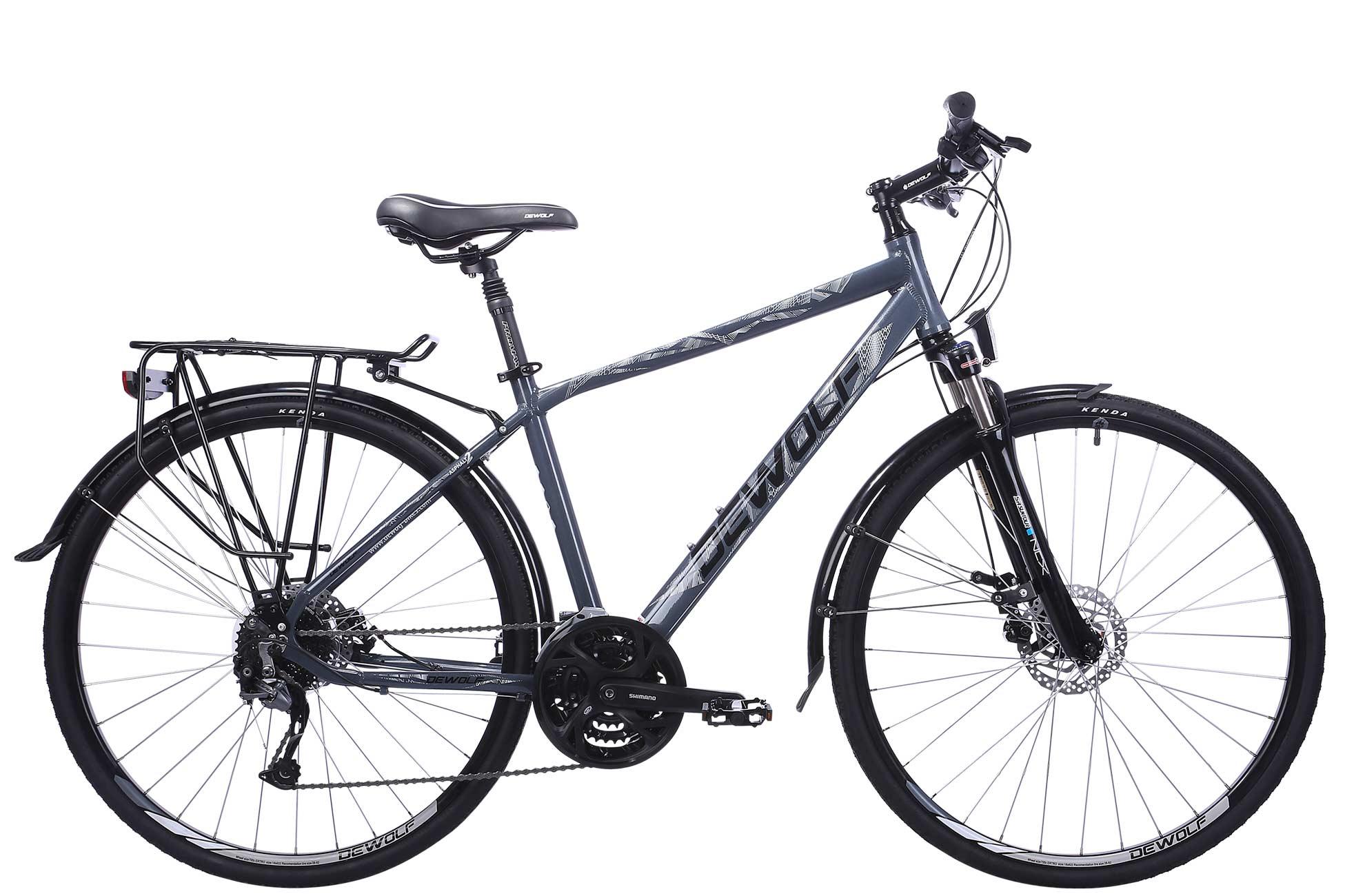 Городской велосипед DEWOLF Asphalt 2 (2016) от Velogrand