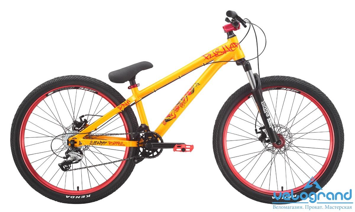 Экстремальный велосипед Stark Pusher-1 (2015) от Velogrand