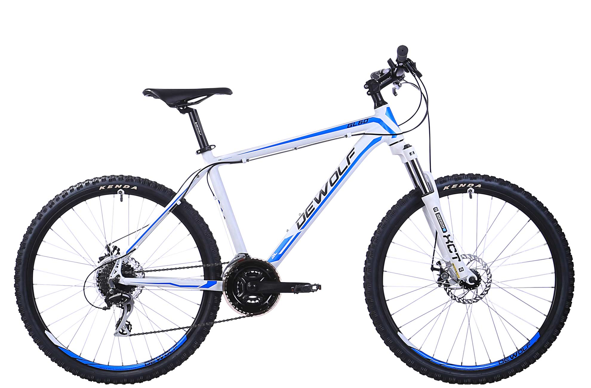 Горный велосипед DEWOLF GL 60 (2016), Цвет Белый, Размер 20