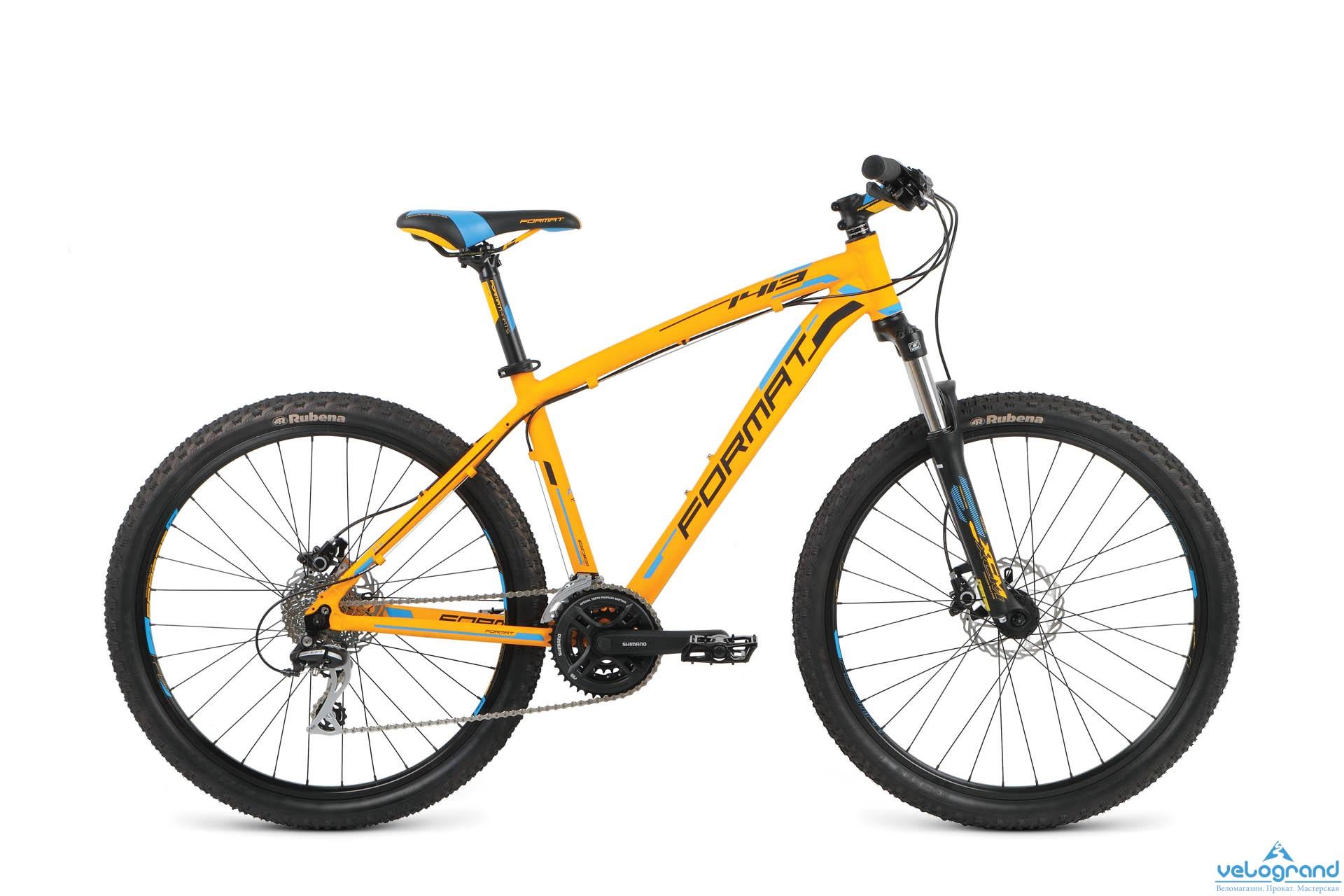 Горный велосипед Format 1413 26 (2016), Цвет Оранжевый, Размер 22