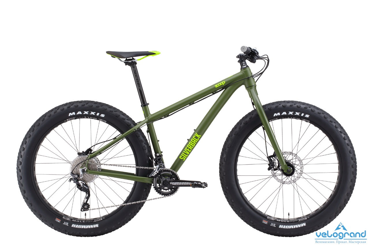 Велосипед фэт-байк Silverback Scoop Double (2016) от Velogrand
