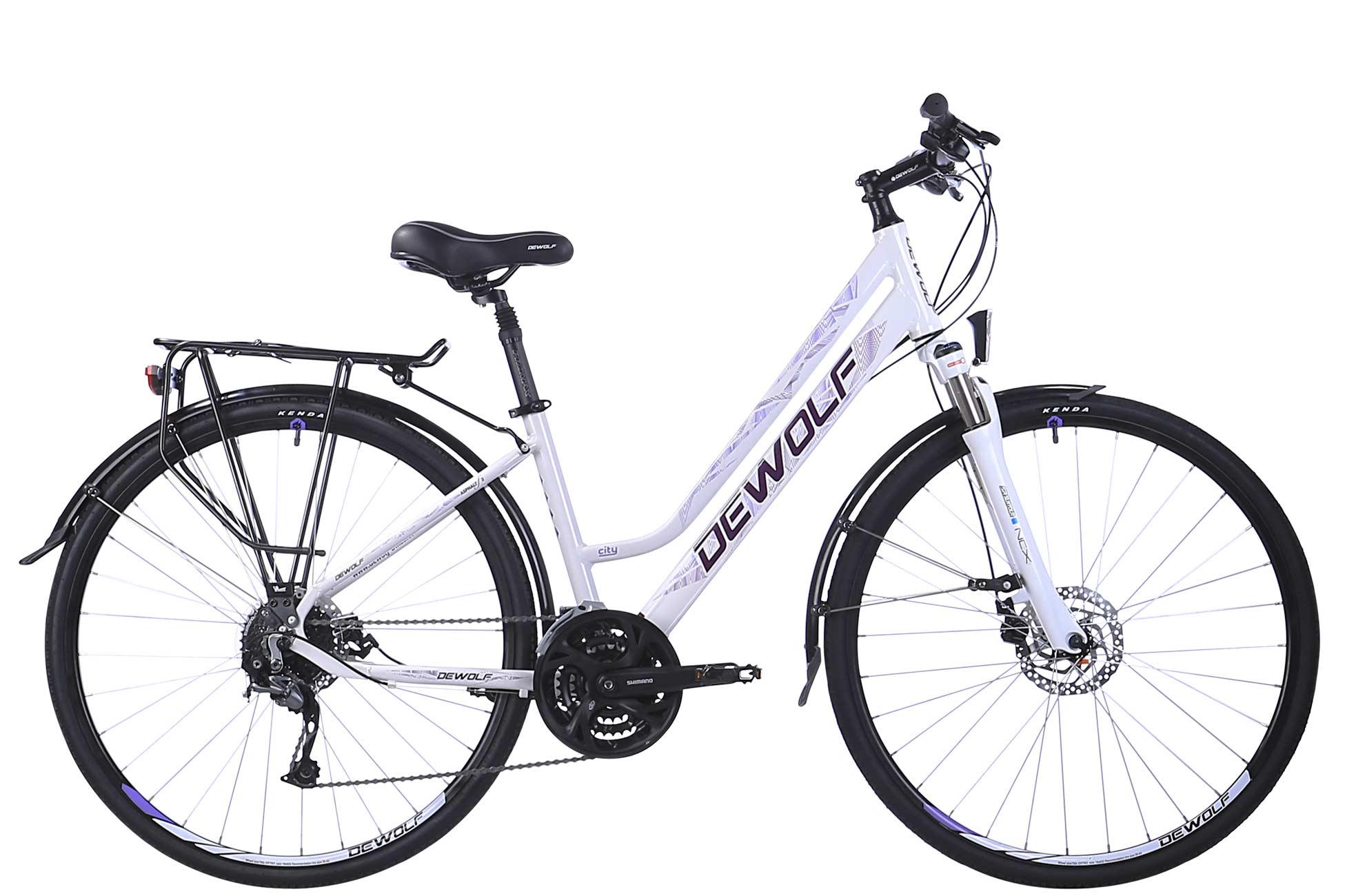 Женский велосипед DEWOLF Asphalt F2 (2016) от Velogrand