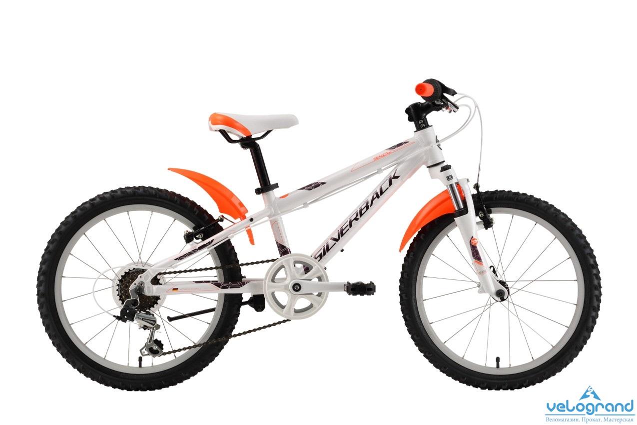 Детский велосипед Silverback Senza 20 (2016), Цвет Зеленый