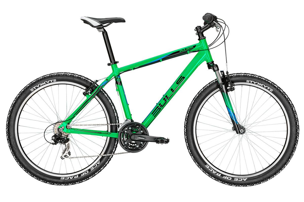 Горный велосипед Bulls Pulsar Eco (2016), Цвет Зеленый, Размер 16