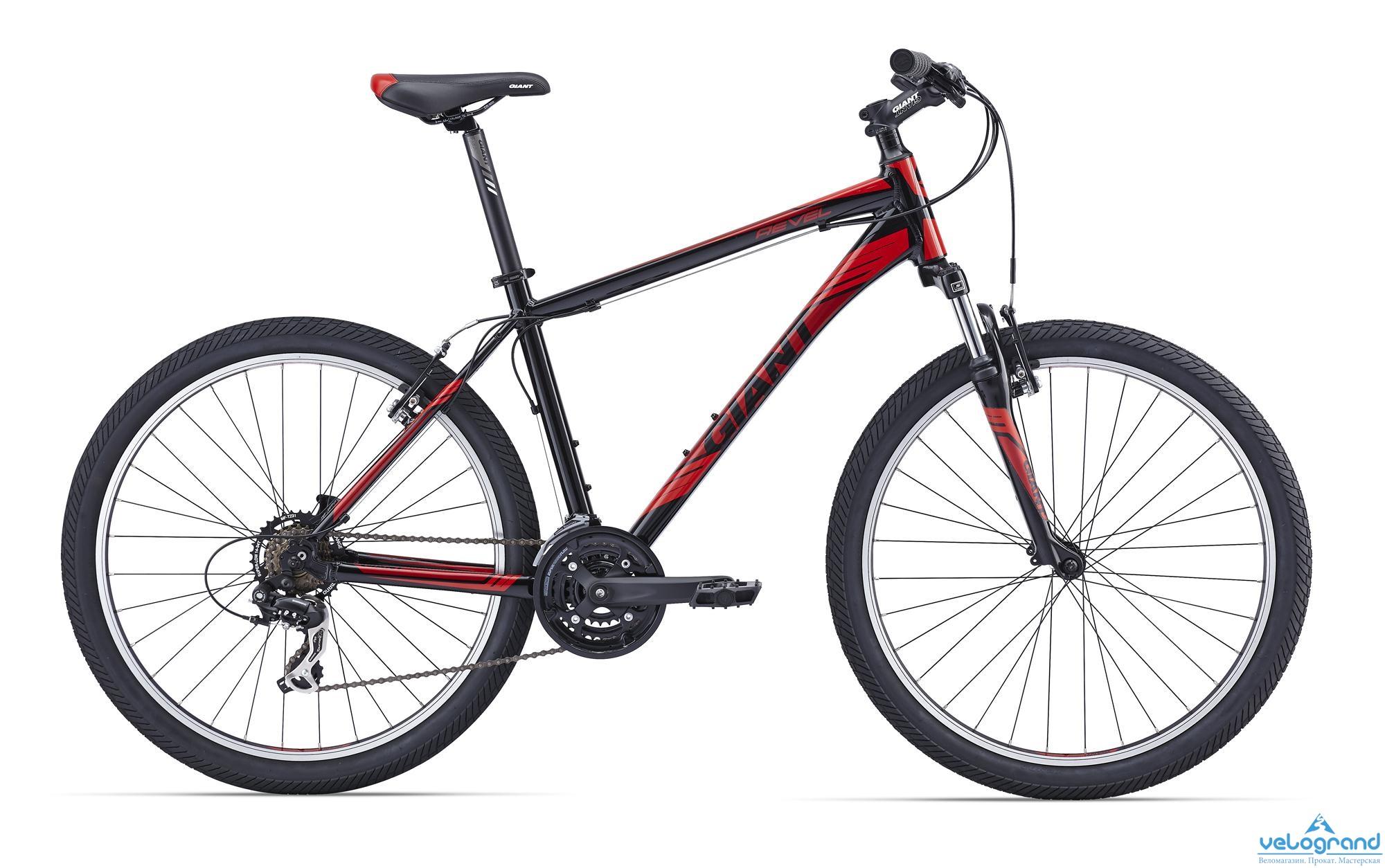 Горный велосипед Giant Revel 2 (2016), Цвет Черный, Размер 18