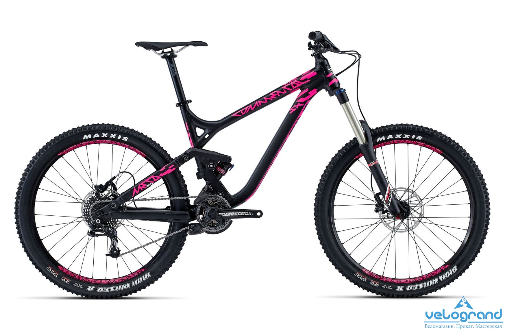 Велосипед двухподвес Commencal META SX Origin (2015) от Velogrand