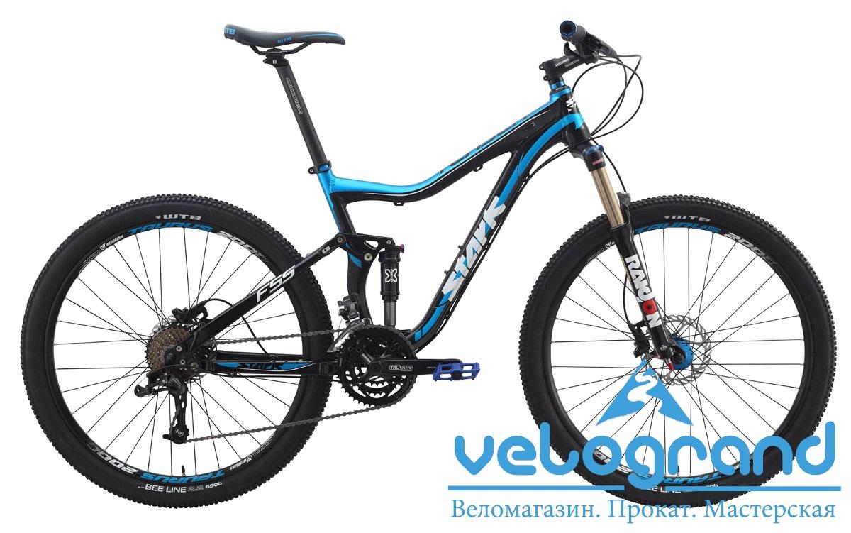 Велосипед двухподвес Stark Teaser XC650B (2014) от Velogrand