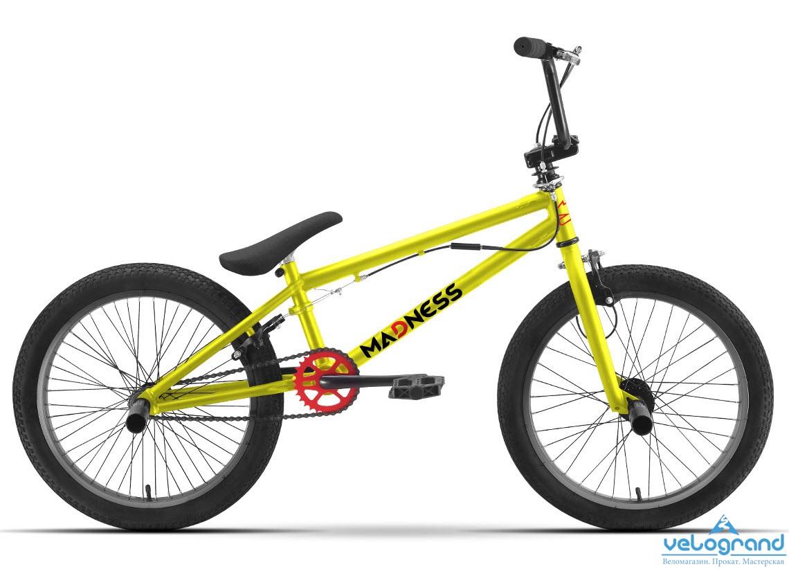 Экстремальный велосипед BMX Stark Madness (2016), Цвет Коричнывый от Velogrand