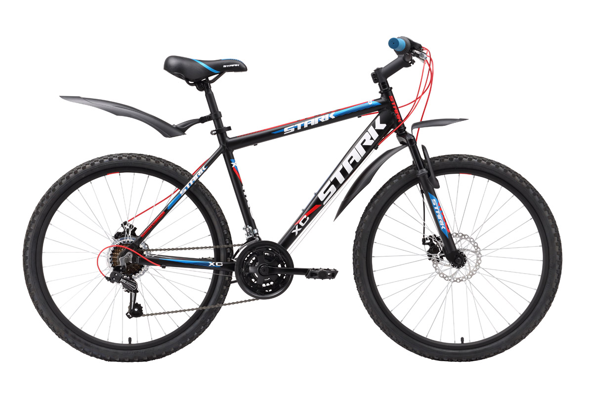 Горный велосипед Stark Tank (2016), Цвет Черно-синий, Размер 20