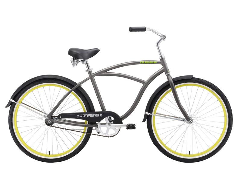 Велосипед круизер Stark Reef (2016), Цвет Серо-зеленый, Размер 20 от Velogrand