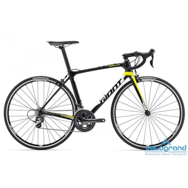 Шоссейный велосипед Giant TCR Advanced 3 (2016), Цвет Черно-Желтый, Размер 16Рама<br><br><br><br>Размеры<br>XS, S, M, ML, L, XL<br><br><br>Цвета<br>Comp/Yellow/White<br><br><br>Рама<br>Advanced-Grade Composite<br><br><br>Вилка<br>Advanced-Grade Composite, alloy OverDrive Steerer<br><br><br><br><br><br><br><br><br>Компоненты<br><br><br><br>Руль<br>Giant Contact<br><br><br>Вынос<br>Giant Connect<br><br><br>Подседельный Штырь<br>Variant<br><br><br>Седло<br>Giant Performance Mens<br><br><br><br><br><br><br><br><br>Трансмиссия<br><br><br><br>Манетки<br>Shimano Tiagra, 10-speed<br><br><br>Передний Переключатель<br>Shimano Tiagra, 10-speed<br><br><br>Задний Переключатель<br>Shimano Tiagra, 10-speed<br><br><br>Тормоза<br>Shimano Tiagra<br><br><br>Тормозные Ручки<br>Shimano Tiagra<br><br><br>Кассета<br>Shimano Tiagra 12-28, 10s<br><br><br>Цепь<br>KMC X10L, 10s<br><br><br>Система<br>Shimano Tiagra 34/50<br><br><br>Каретка<br>Shimano RS500, Press Fit<br><br><br><br><br><br><br><br><br>Колеса<br><br><br><br>Обода<br>Giant S-R2 wheelset<br><br><br>Втулки<br>Giant S-R2 wheelset<br><br><br>Спицы<br>Giant S-R2 wheelset<br><br><br>Покрышки<br>Giant P-SL1, Front and Rear Specific, 700x23, Folding<br><br>Модельный год: 2016<br>Материал рамы: Карбон<br>Диаметр колес: 28 дюймов<br>Количество скоростей: 20 скоростей<br>Возраст: Взрослый<br>Тип тормозов: Ободные<br>Цвет: Черно-Желтый<br>Размер INCH: 16