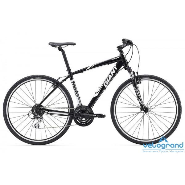 Городской велосипед Giant Roam 3 (2016), Цвет Черный, Размер 20Рама<br><br><br>Размеры<br>XS, S, M, L, XL<br><br><br>Цвета<br>Black<br><br><br>Рама<br>ALUXX-Grade Aluminum<br><br><br>Вилка<br>SR Suntour NEX 700C, 63mm Travel<br><br><br><br><br><br><br><br>Компоненты<br><br><br>Руль<br>Giant Connect, Low Rise 31.8mm<br><br><br>Вынос<br>Giant Sport Alloy, 15 degree rise<br><br><br>Подседельный Штырь<br>Giant Sport 30.9<br><br><br>Седло<br>Giant Connect upright<br><br><br>Педали<br>One-piece black PP, 9/16<br><br><br><br><br><br><br><br>Трансмиссия<br><br><br>Манетки<br>Shimano EF51, 3x8 Speed<br><br><br>Передний Переключатель<br>Shimano M191<br><br><br>Задний Переключатель<br>Shimano Acera<br><br><br>Тормоза<br>MTB alloy linear pull<br><br><br>Тормозные Ручки<br>Shimano EF51<br><br><br>Кассета<br>Shimano HG31 11-34, 8s<br><br><br>Цепь<br>KMC Z8, 8s<br><br><br>Система<br>SR Suntour XCT-T318, 28/38/48<br><br><br>Каретка<br>SR Suntour Cartridge BB<br><br><br><br><br><br><br><br>Колеса<br><br><br>Обода<br>Giant GX02 Wheelset, 32H/32H<br><br><br>Втулки<br>Giant GX02 Wheelset, 32H/32H<br><br><br>Спицы<br>Giant GX02 Wheelset, 32H/32H<br><br><br>Покрышки<br>Giant S-RX4 X-Road Tire,700x40C<br><br>Модельный год: 2016<br>Материал рамы: Алюминий<br>Диаметр колес: 28 дюймов<br>Количество скоростей: 24 скорости<br>Возраст: Взрослый<br>Тип тормозов: Ободные<br>Цвет: Черный<br>Размер INCH: 20