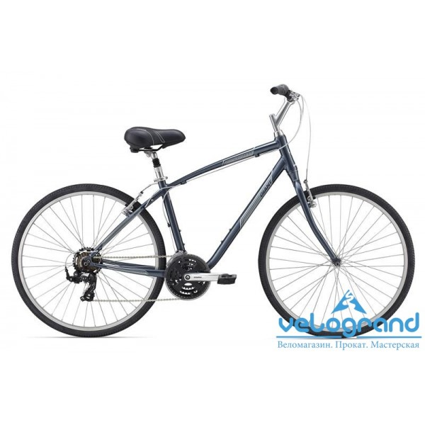 Комфортный велосипед Giant Cypress (2015), Цвет Темно-Синий, Размер 18Хардтейлы-комфорт<br><br><br><br><br><br><br>Рама<br><br><br>ALUXX-Grade Aluminum<br><br><br><br><br>Вилка<br><br><br>SR Suntour CR7V, 40mm Travel<br><br><br><br><br>Задний амортизатор<br><br><br>N/A<br><br><br><br><br>Цвета<br><br><br>Charcoal<br><br><br><br><br>Манетки<br><br><br>Shimano EZ FIRE 51 21 speed<br><br><br><br><br>Передний переключатель<br><br><br>Shimano M191<br><br><br><br><br>Задний переключатель<br><br><br>Shimano Altus<br><br><br><br><br>Шатуны<br><br><br>SR Suntour XCC 28/38/48<br><br><br><br><br>Кассета<br><br><br>Shimano TZ31 14-34 freewheel<br><br><br><br><br>Количество скоростей<br><br><br>21<br><br><br><br><br>Цепь<br><br><br>KMC Z51<br><br><br><br><br>Педали<br><br><br>Platform<br><br><br><br><br>Обода<br><br><br>Giant GX02<br><br><br><br><br>Спицы<br><br><br>Stainless Steel<br><br><br><br><br>Bтулка<br><br><br>Joytech<br><br><br><br><br>Покрышка<br><br><br>Giant P-X3 700x38mm<br><br><br><br><br>Передний тормоз<br><br><br>Linear pull<br><br><br><br><br>Задний тормоз<br><br><br>Linear pull<br><br><br><br> <br> <br><br><br><br>Руль<br><br><br>High-Tensile Steel, High Rise<br><br><br><br><br>Вынос<br><br><br>Aluminium adjustable<br><br><br><br><br>Седло<br><br><br>Giant Comfort<br><br><br><br><br>Подседельный штырь<br><br><br>Alloy Suspension<br><br><br><br><br>Производство<br><br><br>Разработка: Тайвань. Производство: КНР (Тайвань).<br><br>Модельный год: 2015<br>Материал рамы: Алюминий<br>Диаметр колес: 28 дюймов<br>Количество скоростей: 24 скорости<br>Возраст: Взрослый<br>Тип тормозов: Ободные<br>Цвет: Темно-Синий<br>Размер INCH: 18