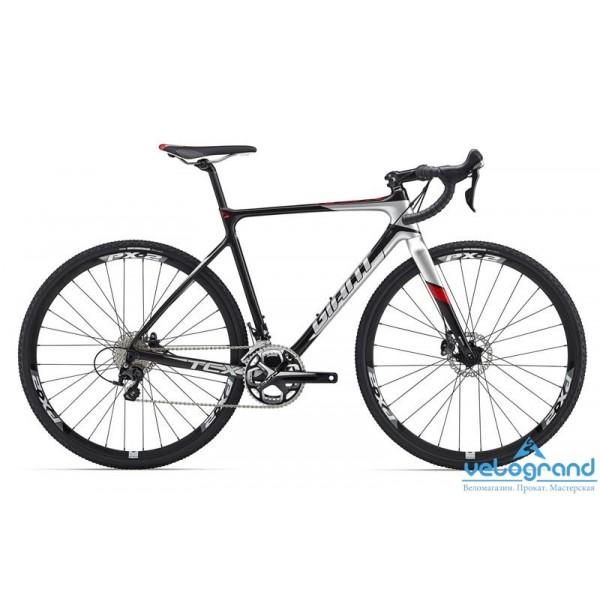 Шоссейный велосипед Giant TCX Advanced Pro 2 (2016), Цвет Черный, Размер 18Рама<br><br><br><br>Размеры<br>S, M, ML, L, XL<br><br><br>Цвета<br>Comp/Silver<br><br><br>Рама<br>Advanced-Grade Composite<br><br><br>Вилка<br>Advanced-Grade Composite, Full-Composite OverDrive 2 Steerer<br><br><br><br><br><br><br><br><br>Компоненты<br><br><br><br>Руль<br>Giant Contact<br><br><br>Вынос<br>Giant Contact<br><br><br>Подседельный Штырь<br>Giant D-Fuse SL Composite<br><br><br>Седло<br>Giant Performance Mens<br><br><br><br><br><br><br><br><br>Трансмиссия<br><br><br><br>Манетки<br>Shimano RS505, 11-speed<br><br><br>Передний Переключатель<br>Shimano 105, 11-speed<br><br><br>Задний Переключатель<br>Shimano 105, 11-speed<br><br><br>Тормоза<br>Shimano BR-RS785 hydraulic disc<br><br><br>Тормозные Ручки<br>Shimano RS505 hydraulic disc<br><br><br>Кассета<br>Shimano 105 11-28, 11s<br><br><br>Цепь<br>KMC X11SL, 11s<br><br><br>Система<br>FSA Gossamer Cross, 36/46<br><br><br>Каретка<br>FSA MegaExo<br><br><br><br><br><br><br><br><br>Колеса<br><br><br><br>Обода<br>Giant P-X2 700C wheelset Front and rear thru axle<br><br><br>Втулки<br>Giant P-X2 700C wheelset Front and rear thru axle<br><br><br>Спицы<br>Giant P-X2 700C wheelset Front and rear thru axle<br><br><br>Покрышки<br>Maxxis Mud Wrestler, 60 TPI Fold , 700x33<br><br><br><br><br><br><br><br><br>Прочее<br><br><br><br>Дополнительно<br>Prime aero axle/QR<br><br>Модельный год: 2016<br>Материал рамы: Карбон<br>Диаметр колес: 28 дюймов<br>Количество скоростей: 22 скорости<br>Возраст: Взрослый<br>Тип тормозов: Дисковые гидравлические<br>Цвет: Черный<br>Размер INCH: 18