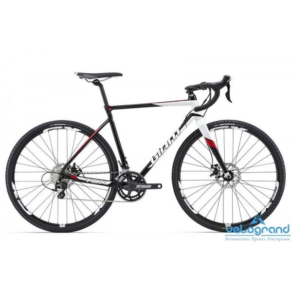 Шоссейный велосипед Giant TCX SLR 2 (2016), Цвет Черно-Белый, Размер 22Рама<br><br><br><br>Размеры<br>XS, S, M, ML, L, XL<br><br><br>Цвета<br>Black/White<br><br><br>Рама<br>ALUXX SLR-Grade Aluminum with hidden rack mounts<br><br><br>Вилка<br>Composite, Alloy OverDrive steerer<br><br><br><br><br><br><br><br><br>Компоненты<br><br><br><br>Руль<br>Giant Connect<br><br><br>Вынос<br>Giant Connect<br><br><br>Подседельный Штырь<br>Giant D-Fuse SL Composite<br><br><br>Седло<br>Giant Performance Mens<br><br><br><br><br><br><br><br><br>Трансмиссия<br><br><br><br>Манетки<br>Shimano 105, 11-speed<br><br><br>Передний Переключатель<br>Shimano 105, 11-speed<br><br><br>Задний Переключатель<br>Shimano 105, 11-speed<br><br><br>Тормоза<br>TRP Spyre C Disc<br><br><br>Тормозные Ручки<br>Shimano 105<br><br><br>Кассета<br>Shimano 105 11-28, 11s<br><br><br>Цепь<br>KMC X11L, 11s<br><br><br>Система<br>FSA Omega, 36/46<br><br><br>Каретка<br>FSA MegaExo<br><br><br><br><br><br><br><br><br>Колеса<br><br><br><br>Обода<br>Giant S-X2 700C wheelset<br><br><br>Втулки<br>Giant Tracker Sport, 28H, 9QR<br><br><br>Спицы<br>Stainless 14G<br><br><br>Покрышки<br>Maxxis Mud Wrestler, 60 TPI wire, 700x33<br><br>Модельный год: 2016<br>Материал рамы: Алюминий<br>Диаметр колес: 28 дюймов<br>Количество скоростей: 22 скорости<br>Возраст: Взрослый<br>Тип тормозов: Дисковые механические<br>Цвет: Черно-Белый<br>Размер INCH: 22